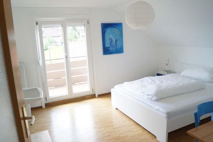 1 blaues Zimmer neu