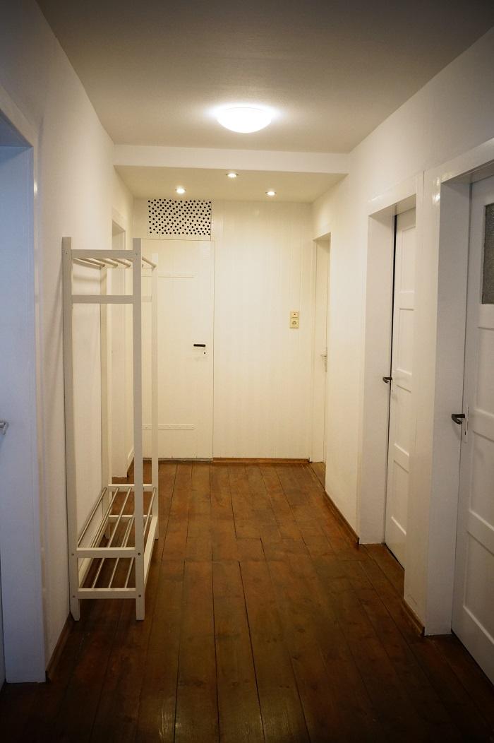 Der renovierte Gang - the renovated hallway